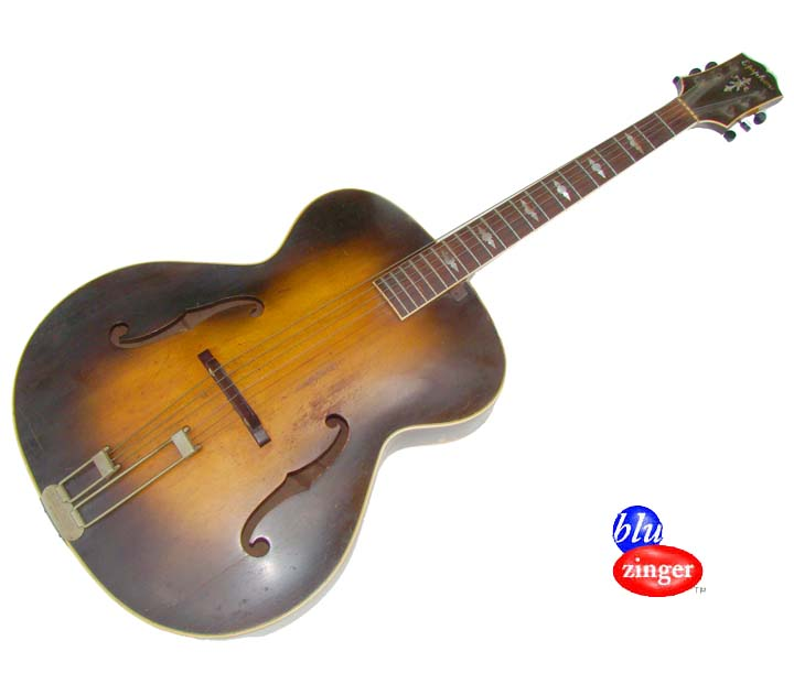1947 vintage epiphone triumph acoustic archtop guitar rare hollow body jazz box ebay. Black Bedroom Furniture Sets. Home Design Ideas